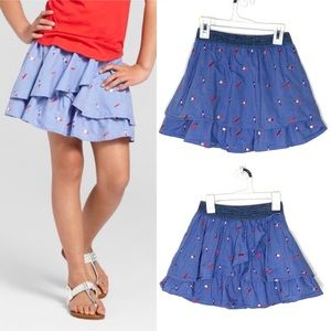 Cat & Jack™ Blue Girls Popsicle Print Skirt